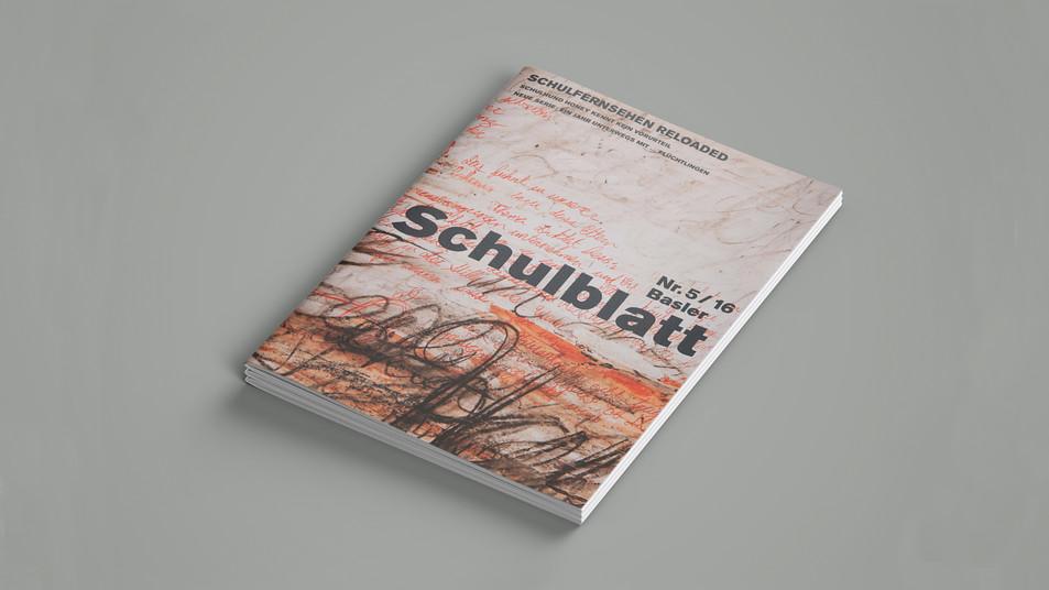 Editorial Design: Basler Schulblatt