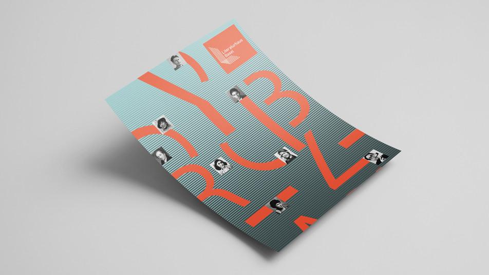 Corporate Design: Literaturhaus Basel