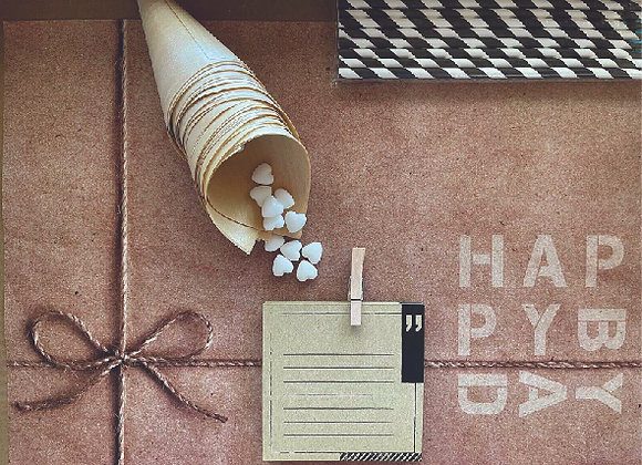 BDAY // ערכת עיצוב שולחן יומולדת