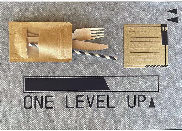 ערכת עיצוב שולחן יומולדת // ONE LEVEL UP