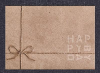 Happybday // מארז נייר 30 יחידות// פלייסמטס יום הולדת