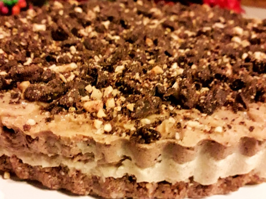 Raw Nutty 'Cheese' Cake