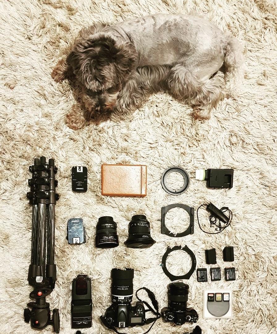 kit básico de viagem