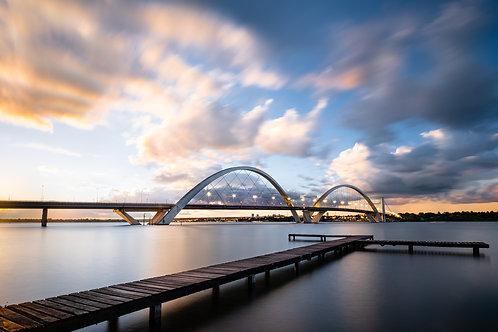 Por do Sol na Ponte JK 3