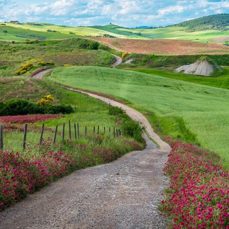 A História por Trás das Fotos - Caminhos da Toscana