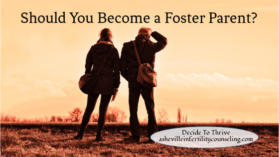 Foster parenting after infertility