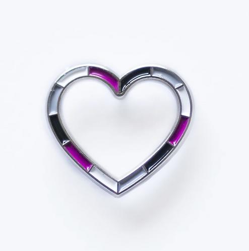 Ace Heart Pin