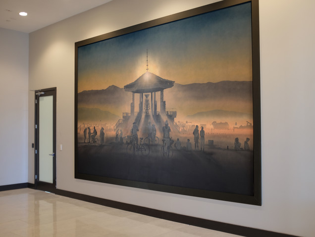 """""""Temple of the Golden Spike"""" for Inova Reno"""