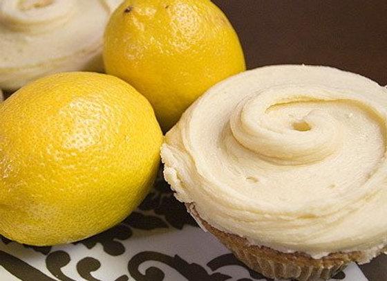 lovely lemon cupcake