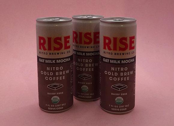 oat milk nitro cold brew mocha (Rise Brewing Co.)