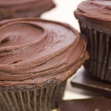 seriously good chococolate cupcake