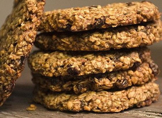 hemp flax granola cookie