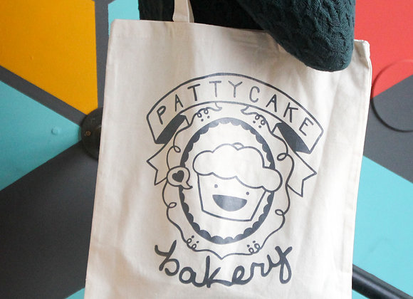 pattycake tote bag