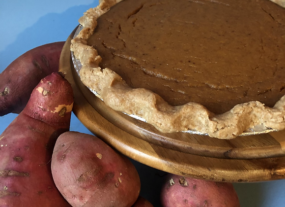 Gluten Free Sweet Potato Pie