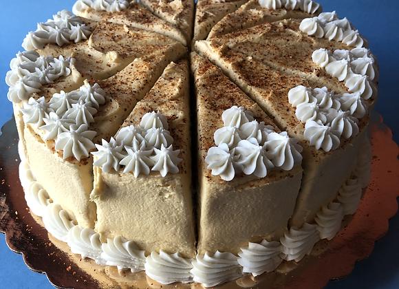 """the aries"" cake by the slice - vanilla with mango and Tajin"