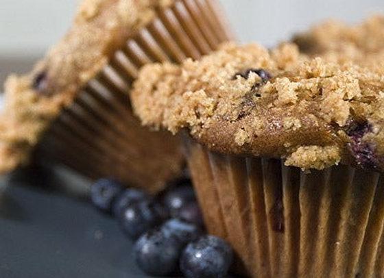 1/2 dozen muffins