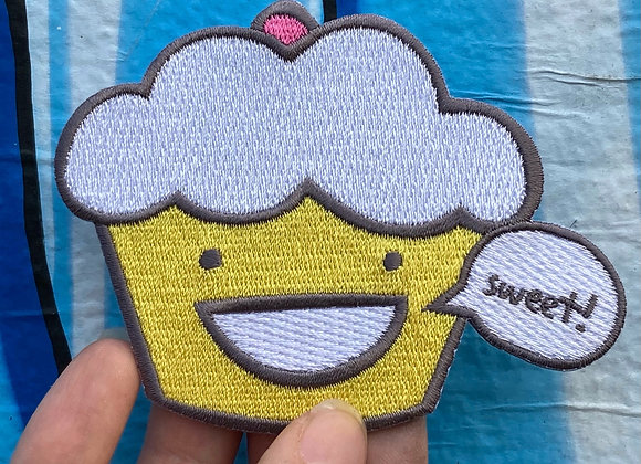 pattycake embroidered patches
