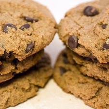 peanutbutter chocolate chip heaven cookie