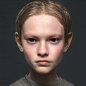 https://longconmag.com/issue-7/sheng-lin/  My Subject series, in particular, responds to Ukraine artist Julian Savko's Portrait of the orphan Sashko Budyak (1974). Sashko's subtle yet complicated expression reminded me of my time in Serbia, on a short missionary trip to help children overcome challenges associated with poverty. This portrait series uses Sashko's face as a basis, hinting at a kind of misfortunate childhood through subtle changes in facial expressions. The generated images encapsulate the original painting while reinterpreting it to include my personal experience in Serbia.