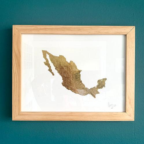 CuadrosLory. Mapa de Mexico