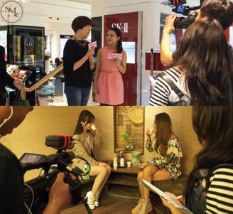 黑龍江衛視-<<美麗俏佳人>>節目錄影-Ruby Lau & Sarah Li