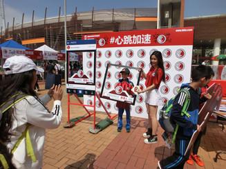 香港足球總會 promotion girl
