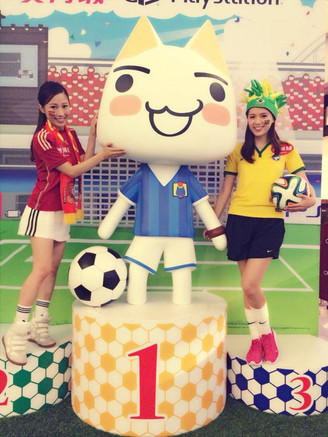 N'ME MODEL-Ling Man & Kinki Lam - 繼續是世界盃熱阿!
