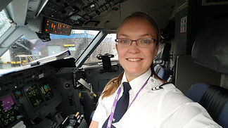 Airplane Pilot Portrait