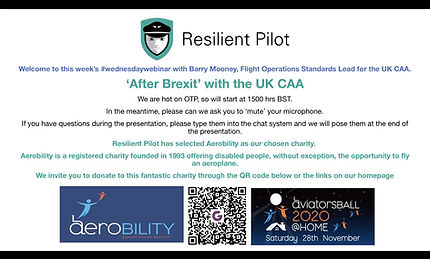 'After Brexit' with The UK CAA - BArry Mooney
