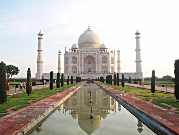 Taj Mahal with Abercrombie&Kent