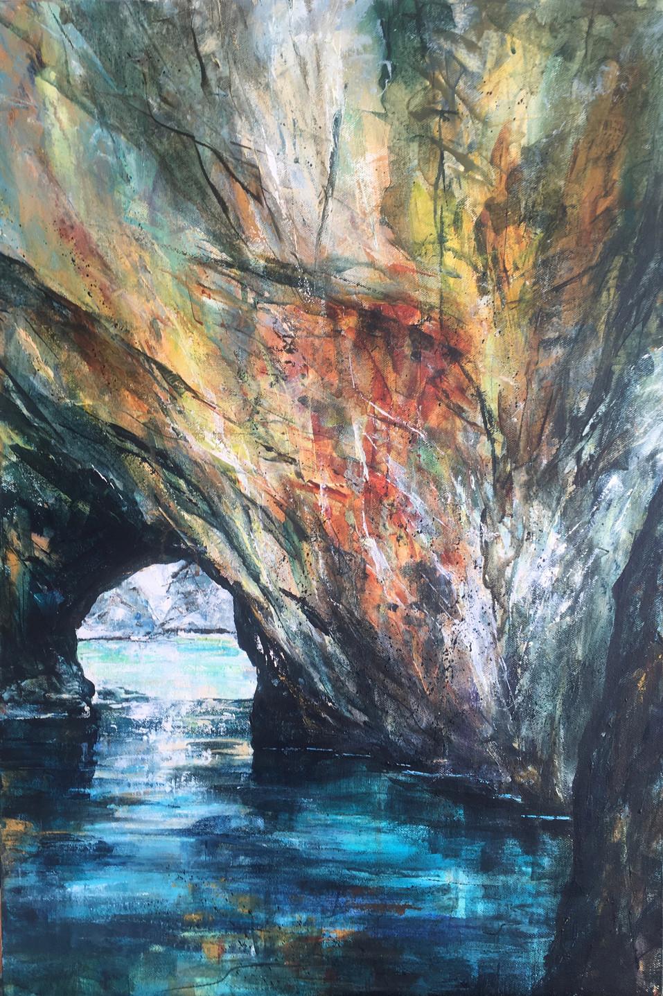 Canoeing Through Secret Caves
