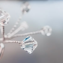 Swarovski Crystal Firework Bridal Hair Pins