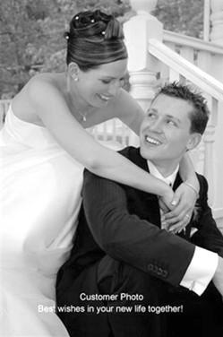 Testimonial Bride Image_Sterling Hairpin