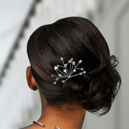 Crystal Spray Bridal Hair Pins