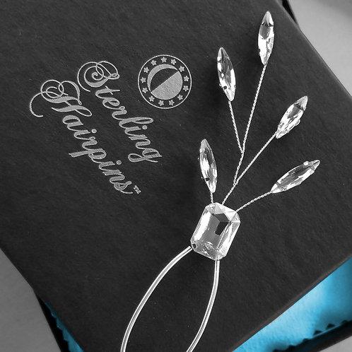 Charlotte Rhinestone Bridal Hair Pins