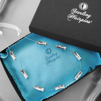 Beki Bridal Headband Headpiece STERLING
