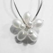 Apple Blossom Freshwater Pearl Bridal Hair Pins