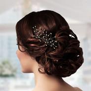 Pearl Spray Bridal Hair Pins