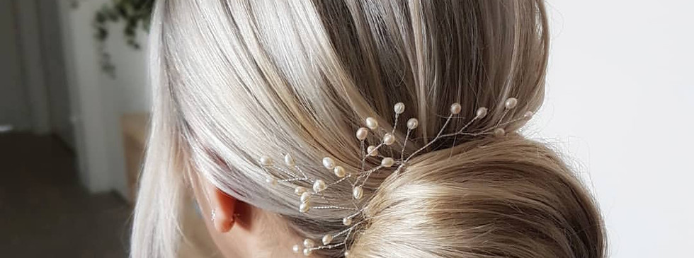 Fern Freshwater Pearl Bridal Hair Pins_S