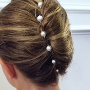 Pearl Strand Bridal Hair Pins