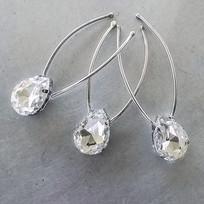 Monica Rhinestone Bridal Hair Pins