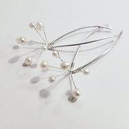 Freshwater Pearl Firework Hair Pins _Ste
