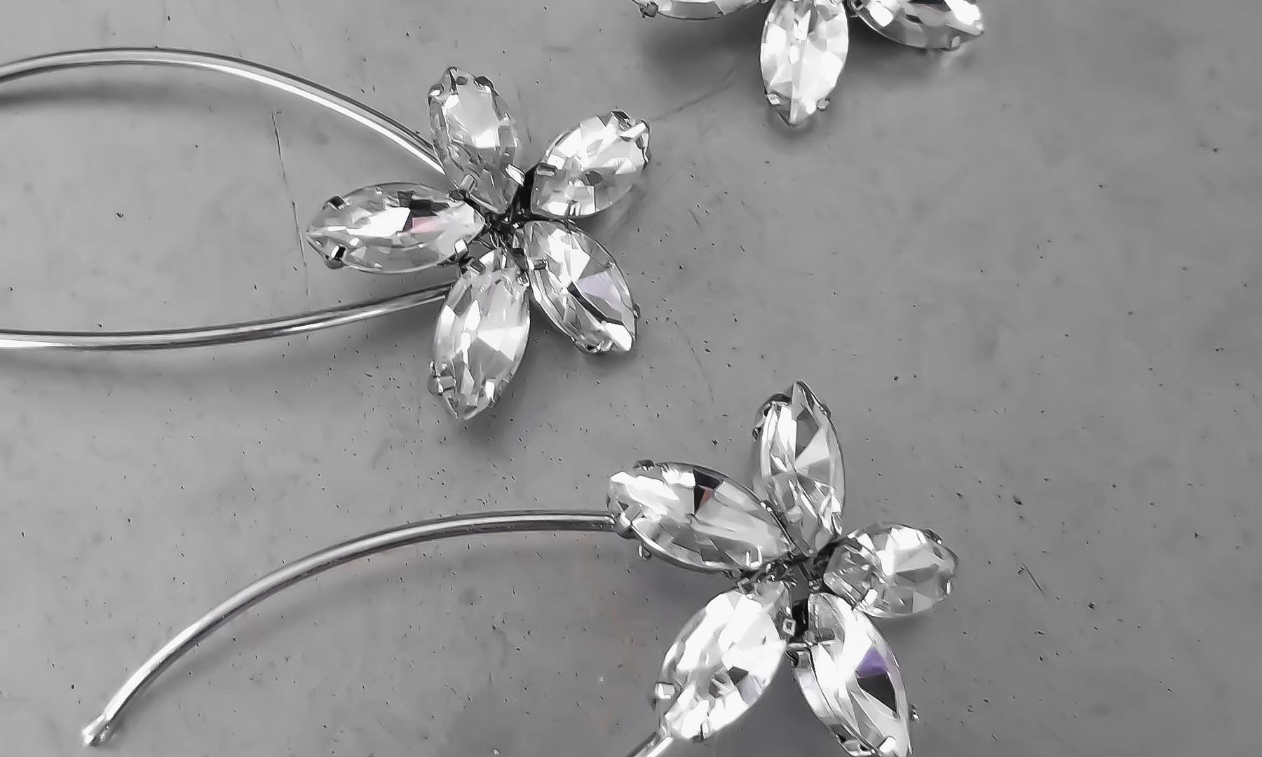 Susie Rhinestone Bridal Hair Pins