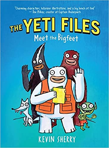 The Yeti Files by Kevin Sherry
