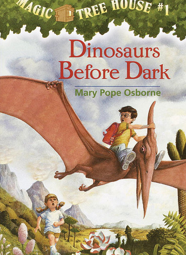 The Magic Treehouse Series by Mary Pope Osborne