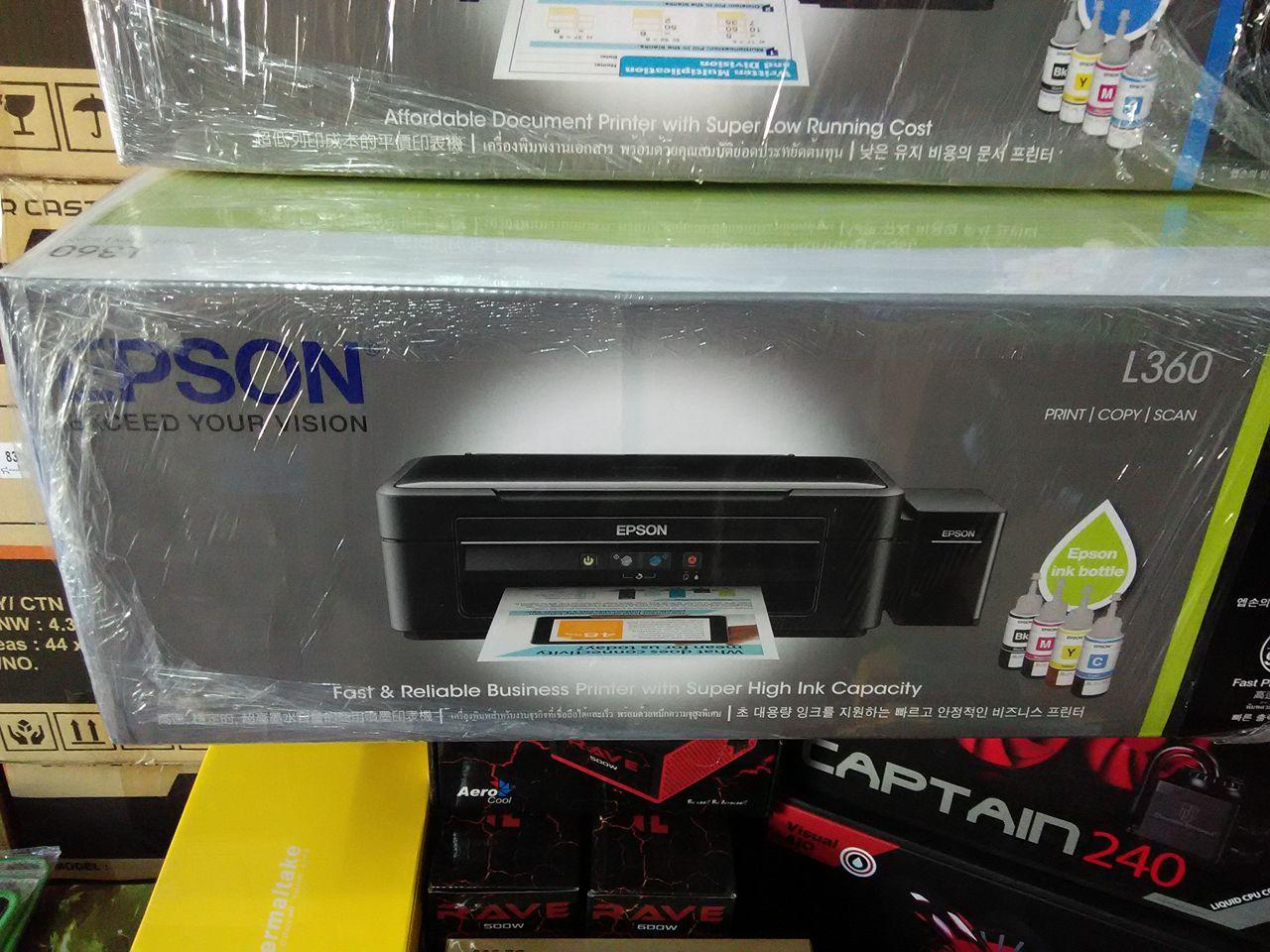 2kpcshop Printers Ink Epson Printer L 360 L360 Print Copy Scan