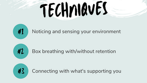 Grounding Tools for Overwhelm & Anxiety