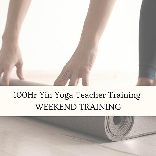 Yin Yoga Teacher Weekend Training - Napier