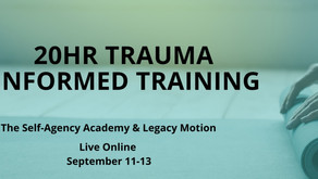 Why is Trauma-Informed Training important in a role involving person-to-person interactions?