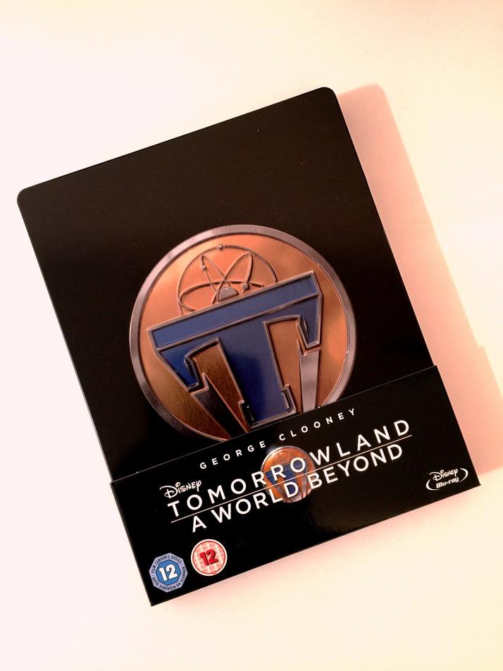 TOMORROWLAND: Confira o Steelbook lançado no Reino Unido